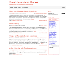 intearview.com screenshot