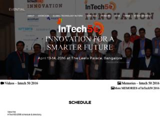 intech50.com screenshot