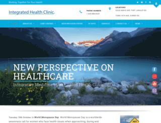 integratedhealthclinic.com screenshot
