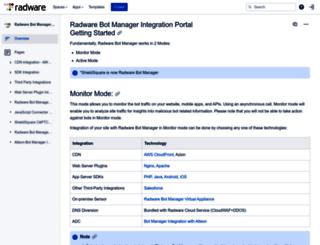 integration.shieldsquare.com screenshot