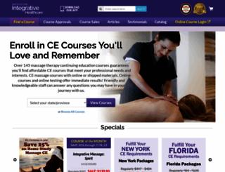 integrativehealthcare.org screenshot