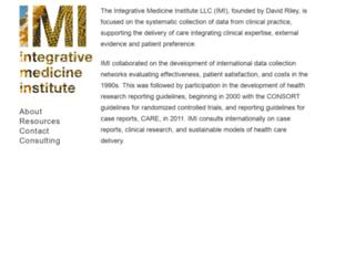 integrativemed.org screenshot