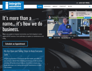 integrityautorepair.com screenshot