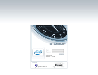 intel.ez-scheduler.com screenshot