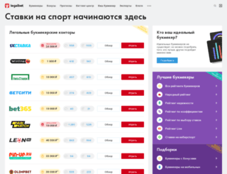 intelbet.ru screenshot