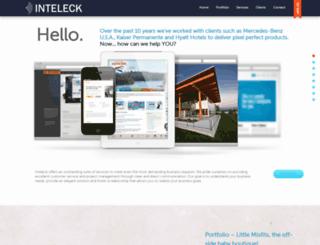 inteleck.com screenshot