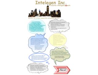 intelegen.com screenshot