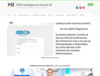 inteligenciadental.com screenshot
