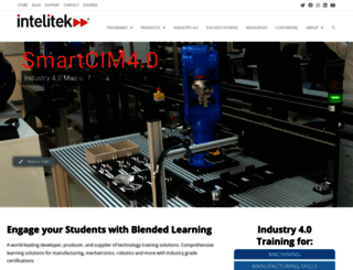 intelitek.com screenshot