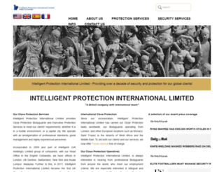 intelligent-protection.co.uk screenshot