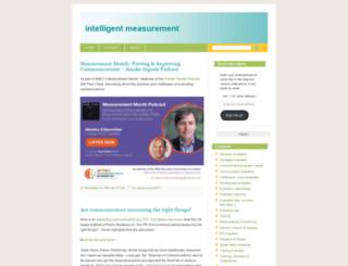 intelligentmeasurement.wordpress.com screenshot