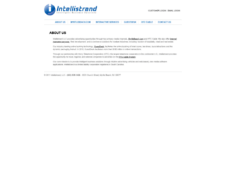 intellistrand.com screenshot