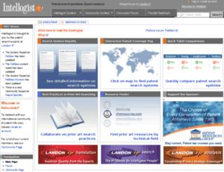 intellogist.com screenshot