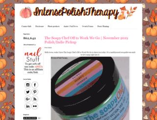 intensepolishtherapy.blogspot.ca screenshot