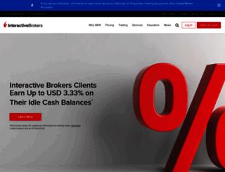 interactivebrokers.co.in screenshot