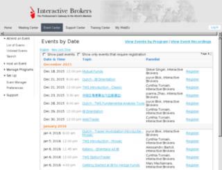 interactivebrokers.webex.com screenshot