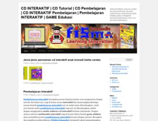 interaktifpembelajaran.wordpress.com screenshot