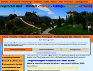 interaktiv.bayerischer-wald-ferien.de screenshot