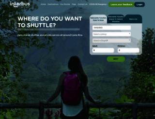 interbusonline.com screenshot
