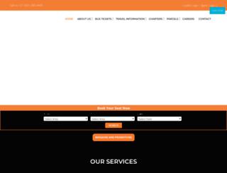 intercape.co.za screenshot