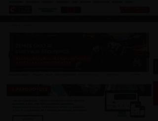 intercars.lt screenshot