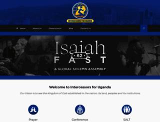intercessorsug.org screenshot