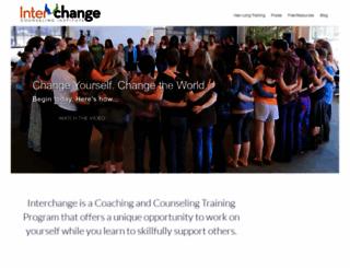 interchangecounseling.com screenshot