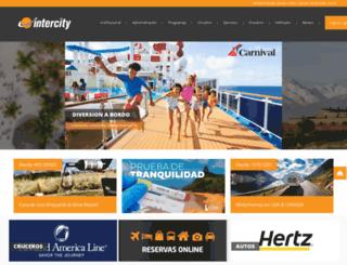 intercity.com.ar screenshot