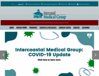 intercoastalmedical.com screenshot