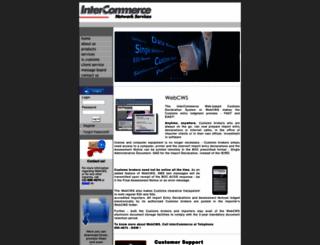 intercommerce.com.ph screenshot