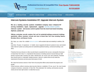 intercomrepairny.com screenshot