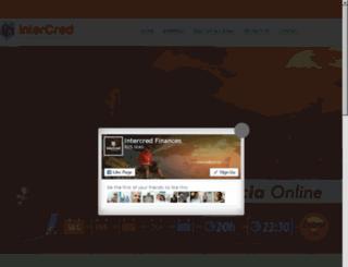 intercredfinances.com screenshot