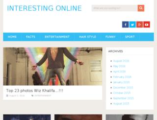 interestingonline.com screenshot