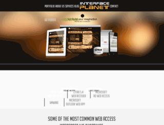 interface.novelwebcreation.com screenshot