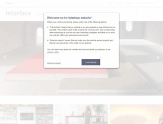 interfaceflor.co.uk screenshot