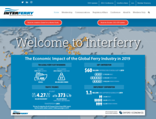 interferry.com screenshot