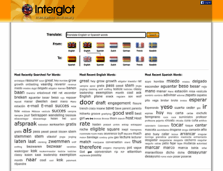 interglot.com screenshot