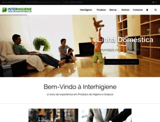 interhigiene.pt screenshot