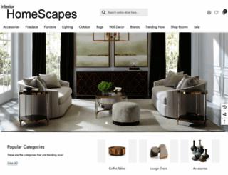 interiorhomescapes.com screenshot