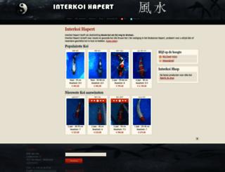 interkoi-hapert.nl screenshot