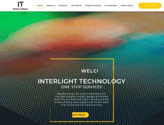 interlight.com.my screenshot