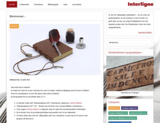 interligne.org screenshot