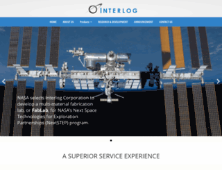interlogcorp.com screenshot