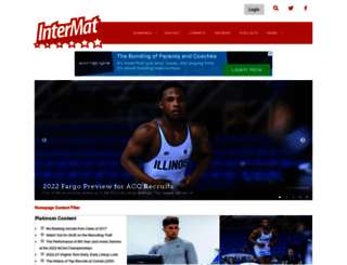 intermatwrestle.com screenshot