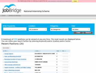 intern.jobbridge.ie screenshot