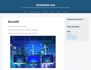 internaide.com screenshot