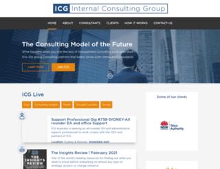 internalconsulting.com screenshot