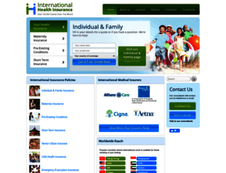 international-health-insurance.com screenshot