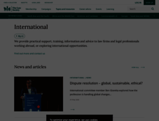 international.lawsociety.org.uk screenshot