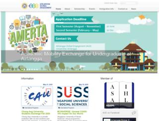international.unair.ac.id screenshot